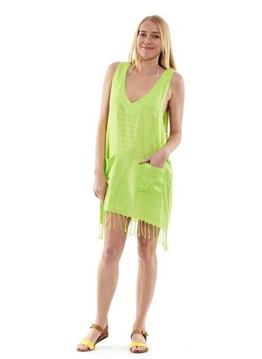 Peschtemall Plaj Elbisesi Yeşil
